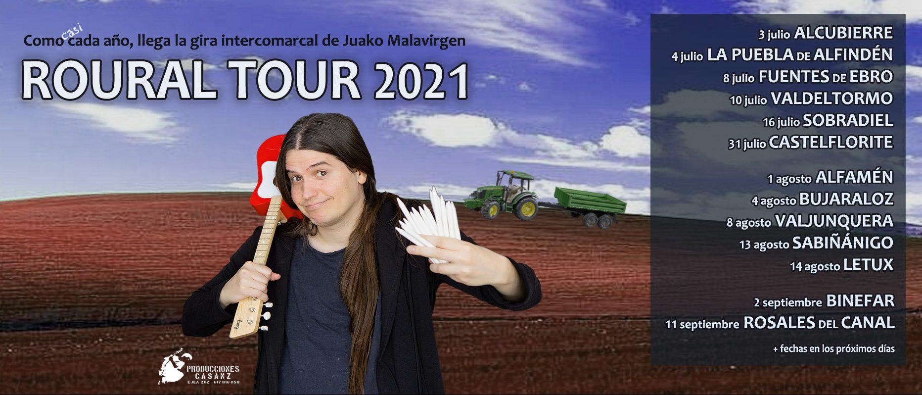 Agenda de verano de Juako Malavirgen